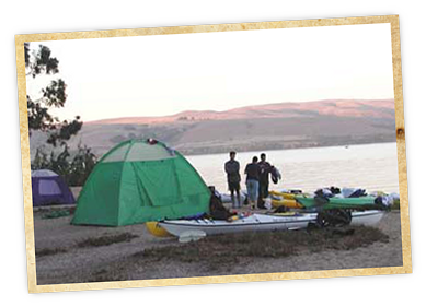 Photo of Don't drive to your campground, kayak to it! Paddle-in Camping Point Reyes' / To…