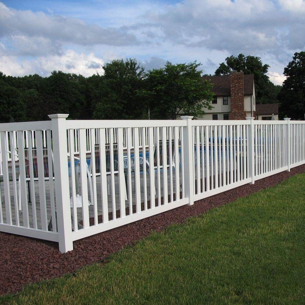 outdoor pvc fence product price