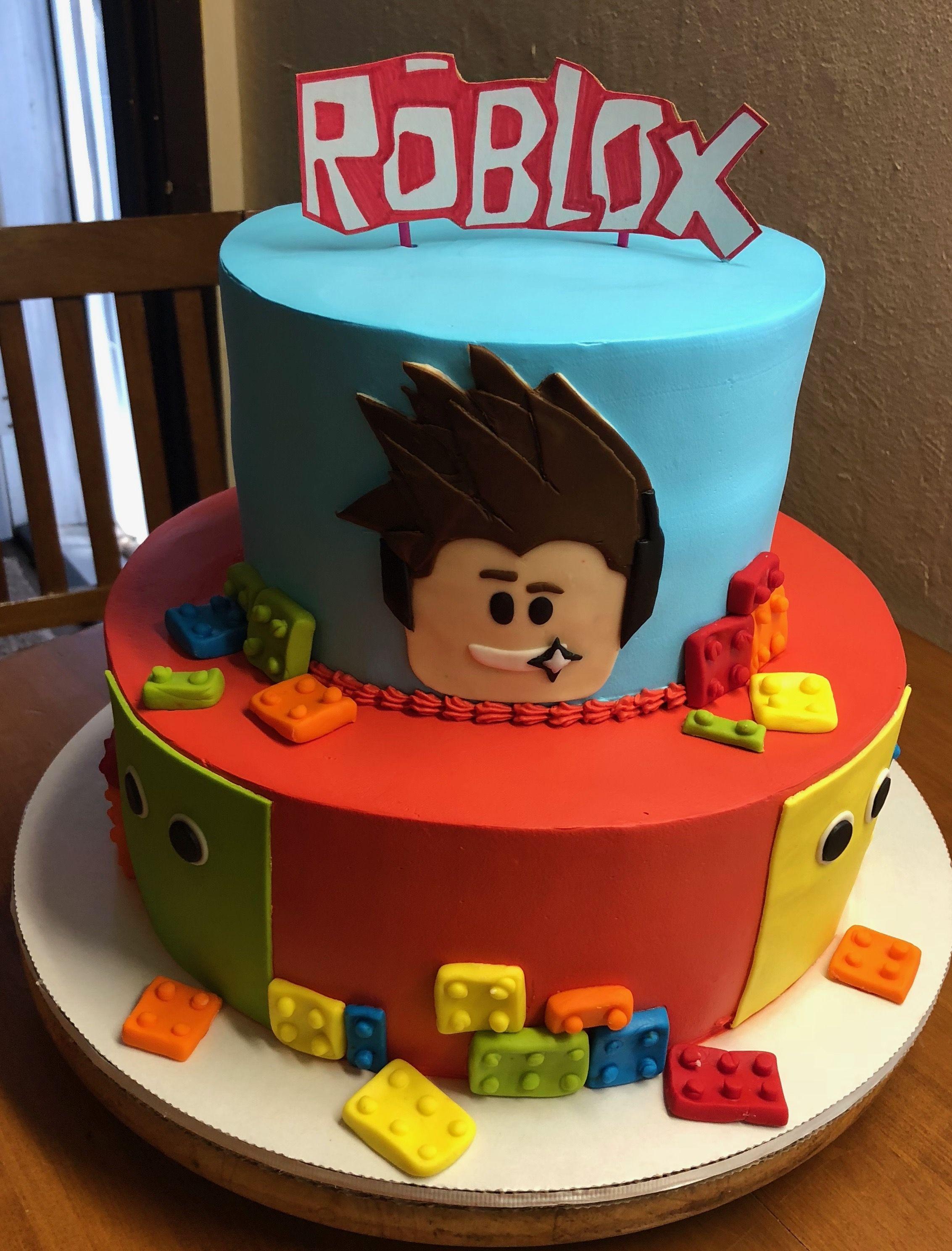 Roblox Birthday Cake Decoration Decoracion De Tortas Cumpleanos