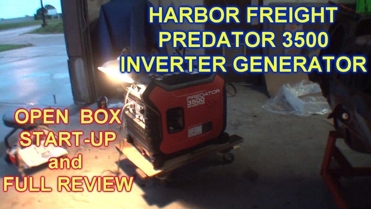 """Harbor Freight Portable Generator """"SUPER QUIET"""