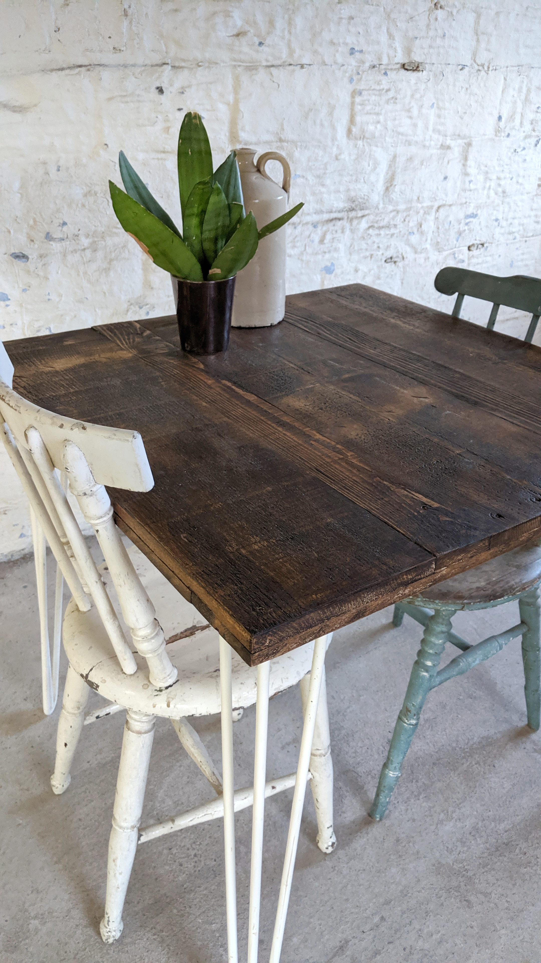 Reclaimed Wood Bistro Table Restaurant Dining Bar Table In 2020 Reclaimed Wood Dining Table Bistro Table Reclaimed Wood Paneling