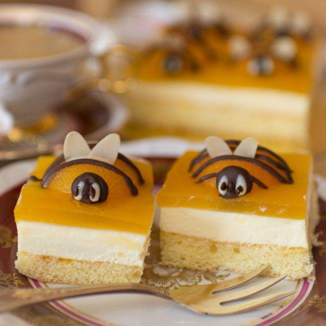 Oster-Kuchen, Osterkuchen, Osterdessert, Bienenkuchen
