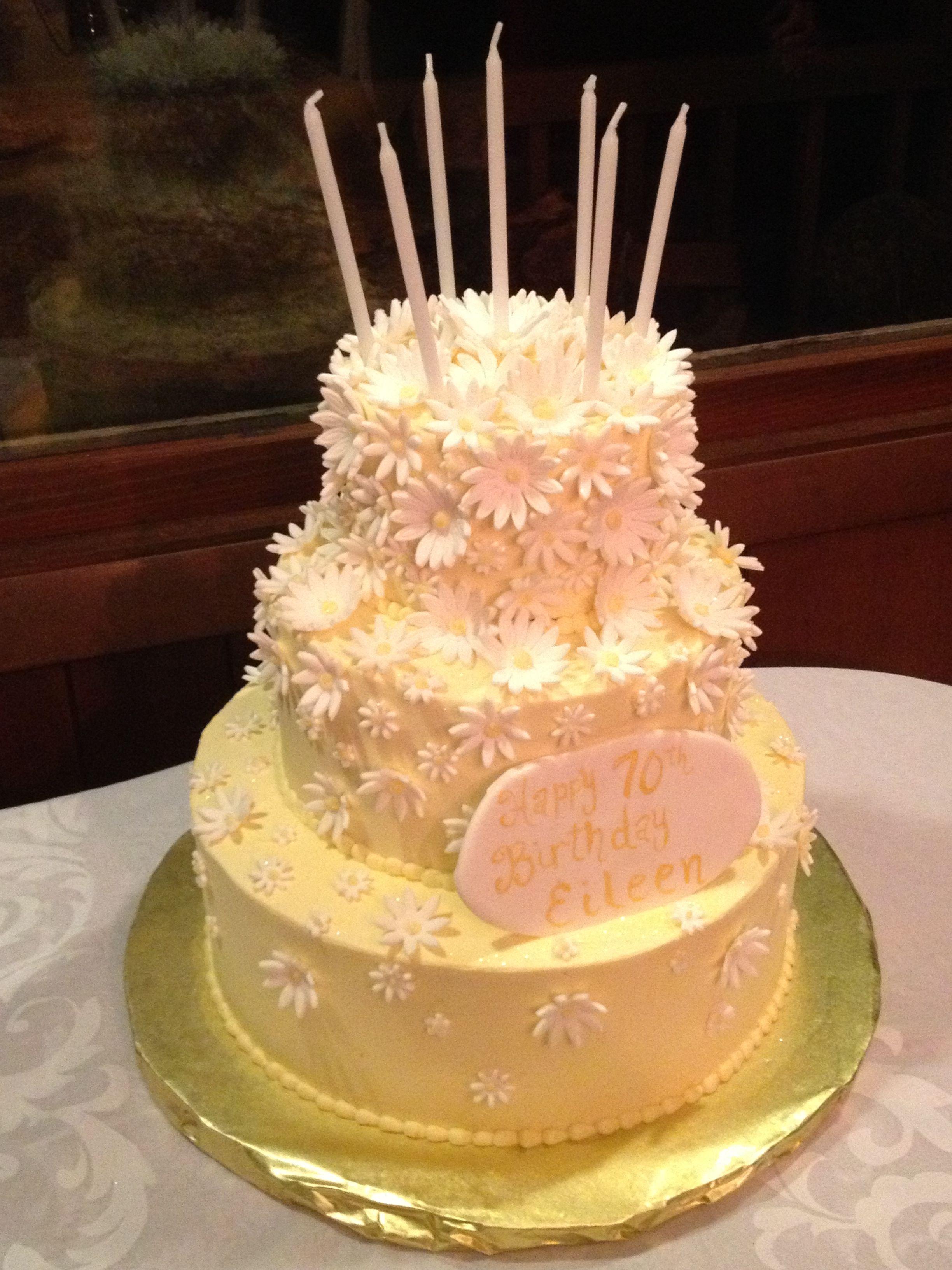 Cake For Moms 70th Birthday