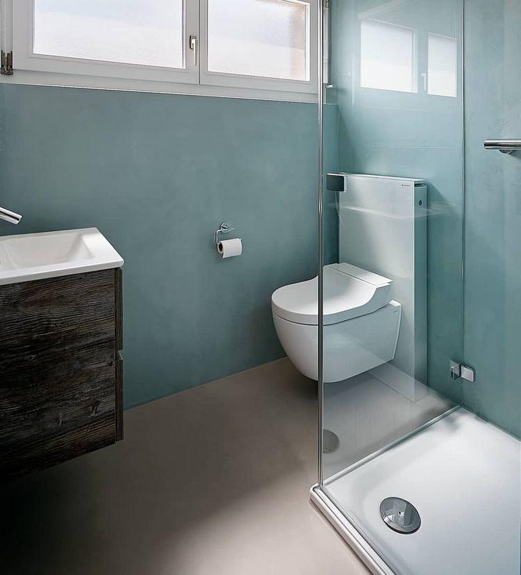 Fugenloses Bad Praktische Ideen für Wandverkleidung und
