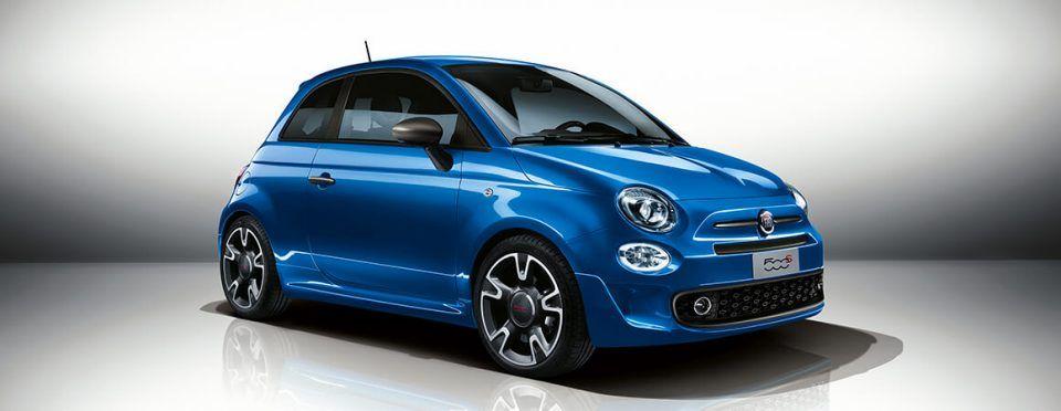 Fiat 500 Blu Elettrico With Images Fiat 500 Fiat Cars New Fiat