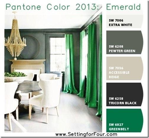 Pantone Color 2013 Emerald With Chip It Pantone Color