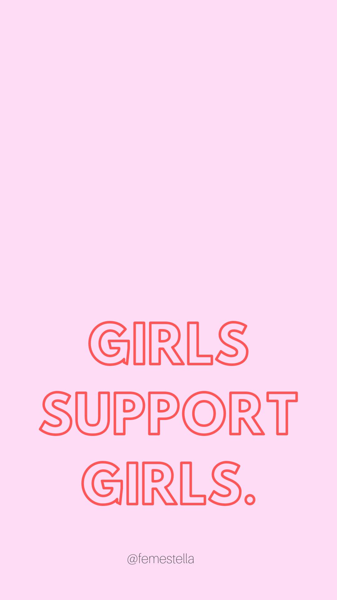 Feminist Iphone Wallpaper Power Wallpaper Girls Support Girls Funny Phone Wallpaper