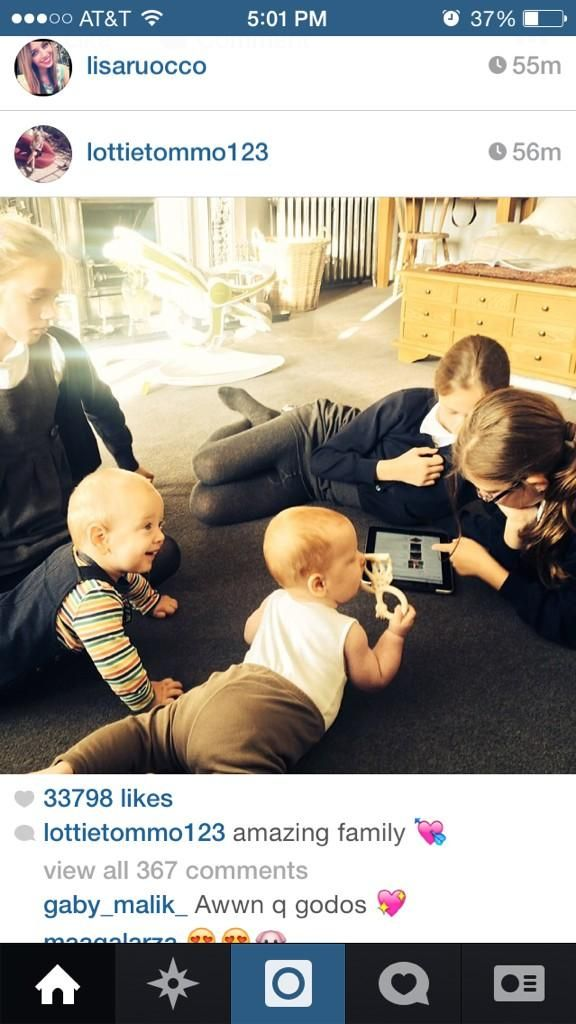1D Updates @Updates1D_x3   Aww what Lottie posted on Instagram