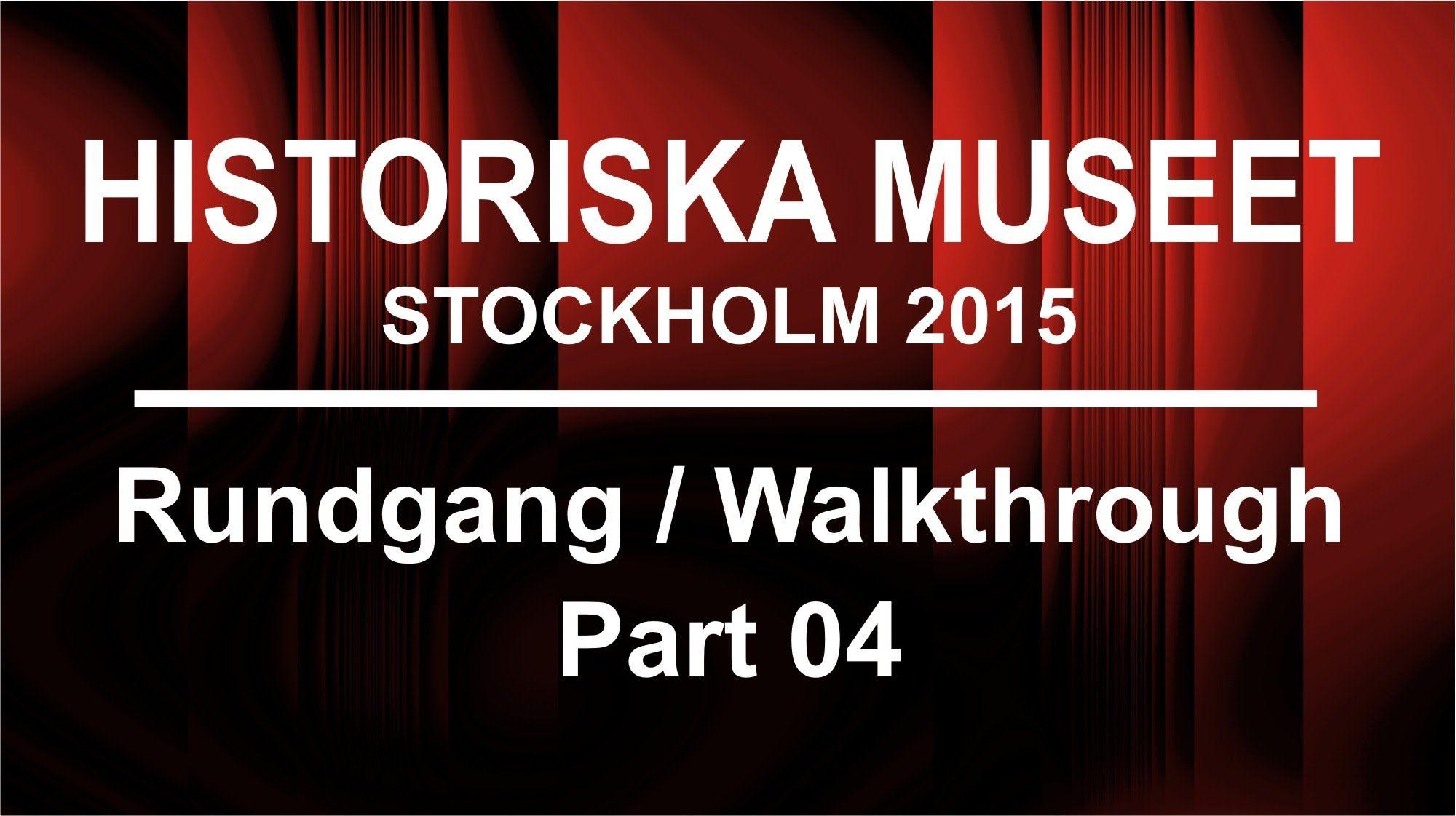 Exponate der Wikinger-Ausstellung im Historiska Museum Stockholm - Part 04