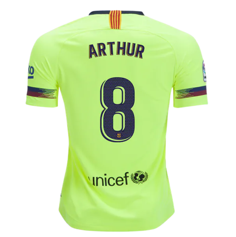 9de3929e2 Barcelona 18 19 Away Men Soccer Jersey Personalized Name and Number -  zorrojersey