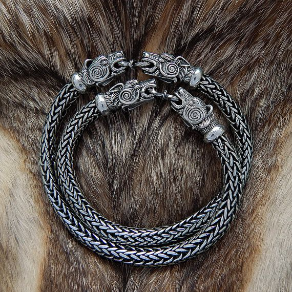 VIKING BEAR Bracelet. VIKING Silver Bear Head Bracelet. от RuyaN