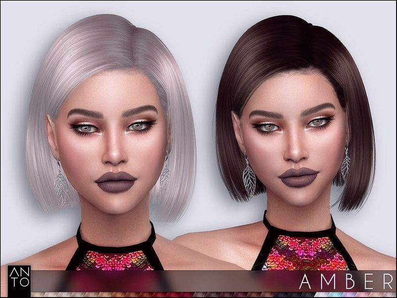 The Sims Resource Amber Hair By Anto Sims 4 Hairs Sims Hair Sims Sims 4