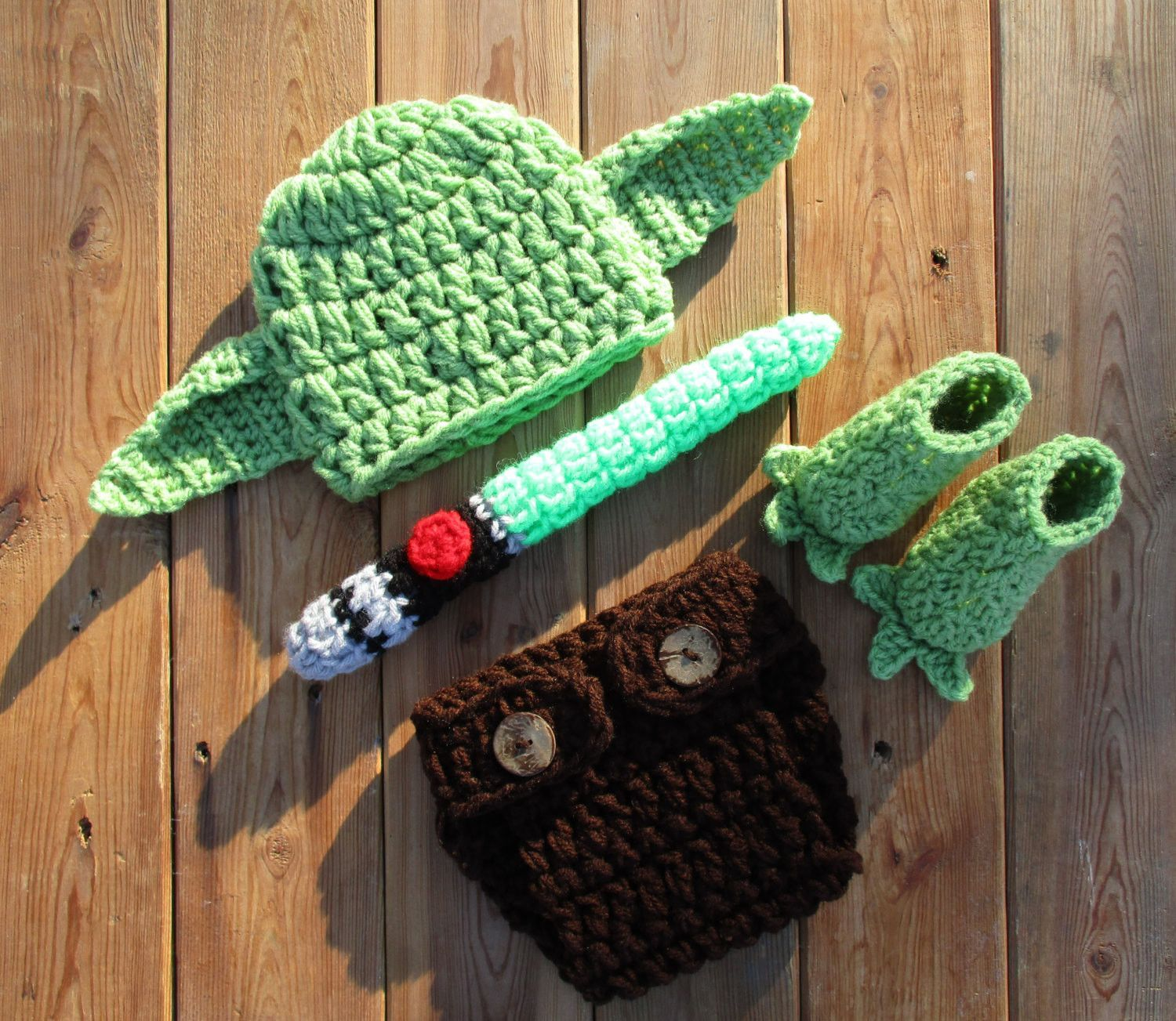 Baby Yoda Outfit Newborn Baby Photo Prop | Baby Boy | Pinterest