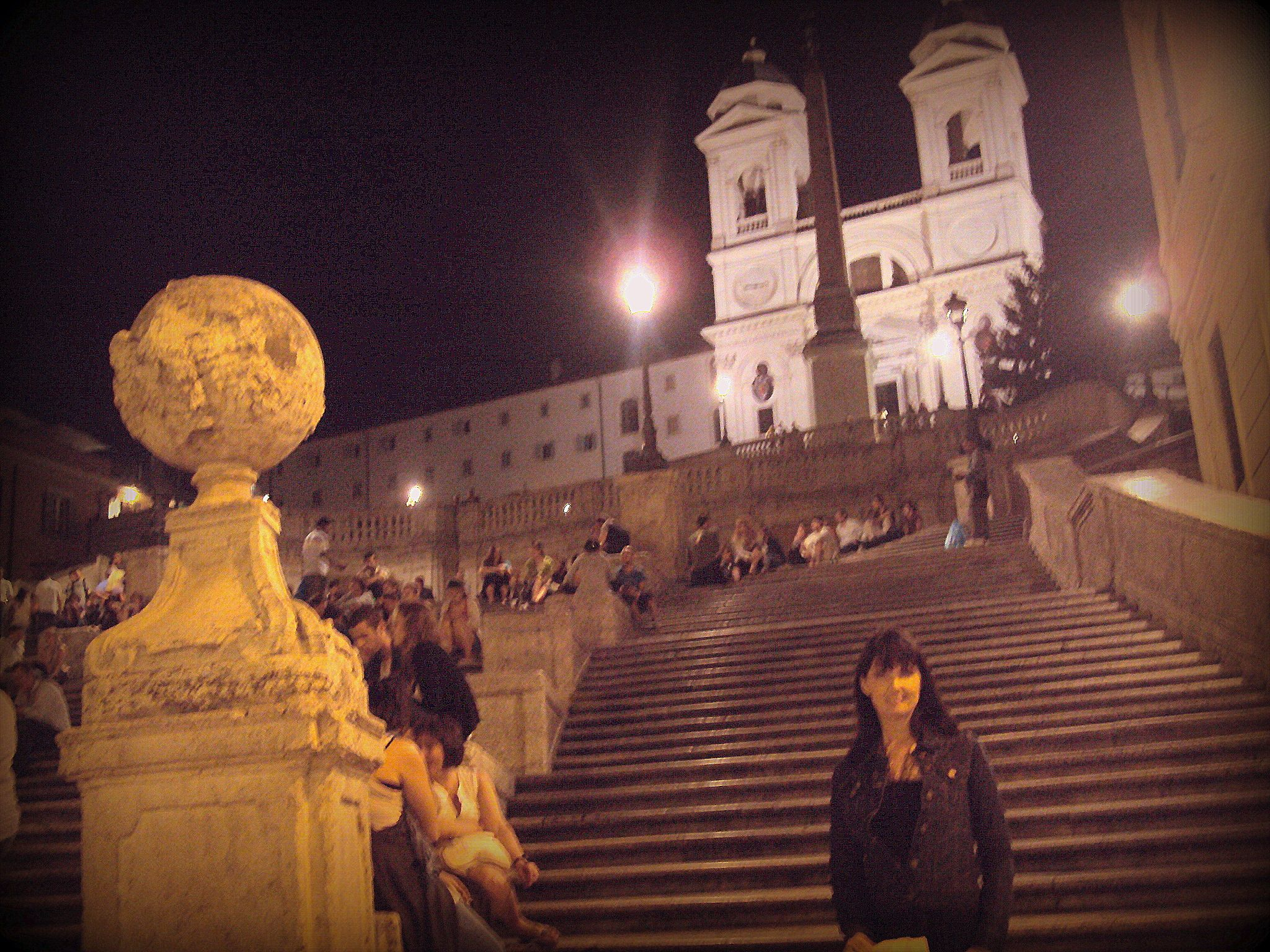 The Spanish Steps in Rome 6/2011