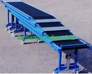 Telescopic Roller Conveyors Manufacturer In 2020 With Images Conveyors Conveyor System Manufacturing