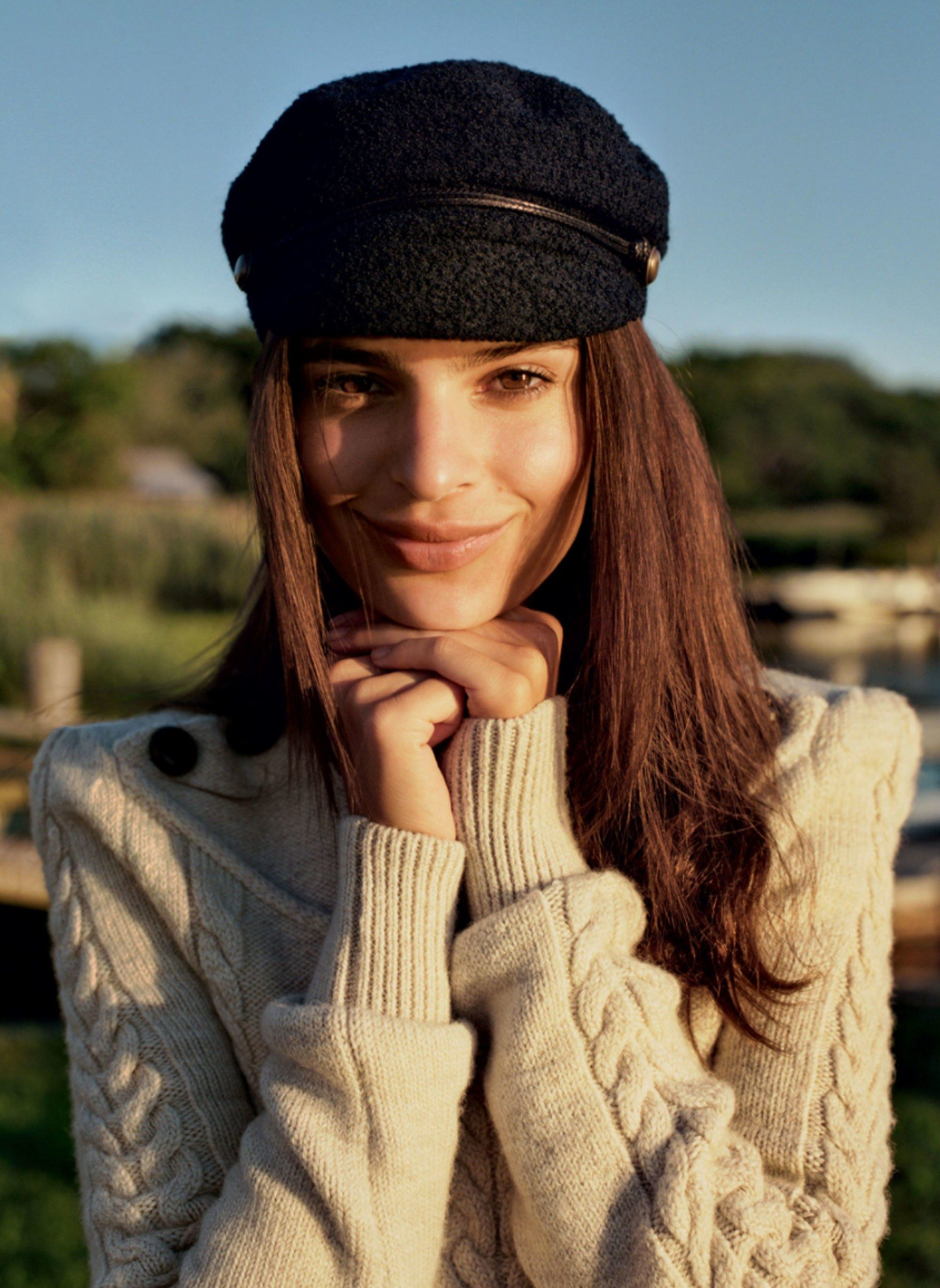 6d0d669b20575a Cadet and newsboy caps are topping off the model-off-duty uniform this  season.