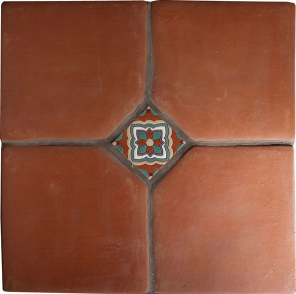 spanish mission red terracotta floor