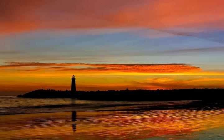 Santa cruz,California  #sunset