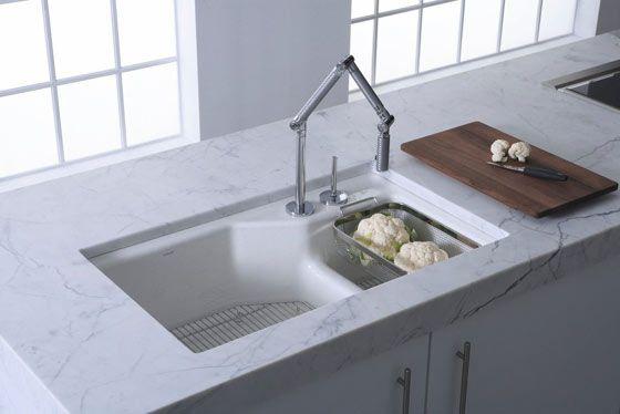 kohler karbon faucet kitchen faucet kitchen elegant kitchens rh pinterest com