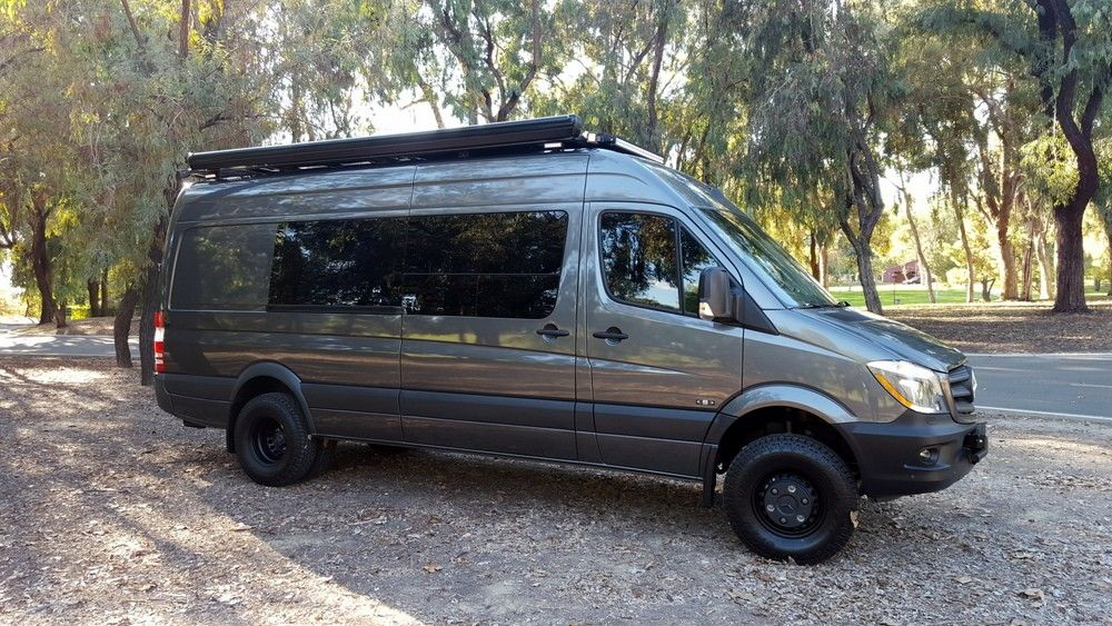 Sprinter Van Conversion Campers 4x4 Camper Camping Travel Trailers