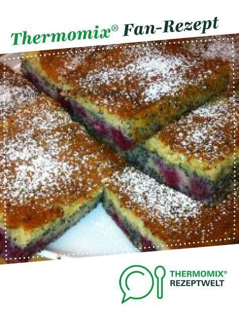 Mohn Kirschkuchen Von Thermohase Ein Thermomix Rezept Aus Der
