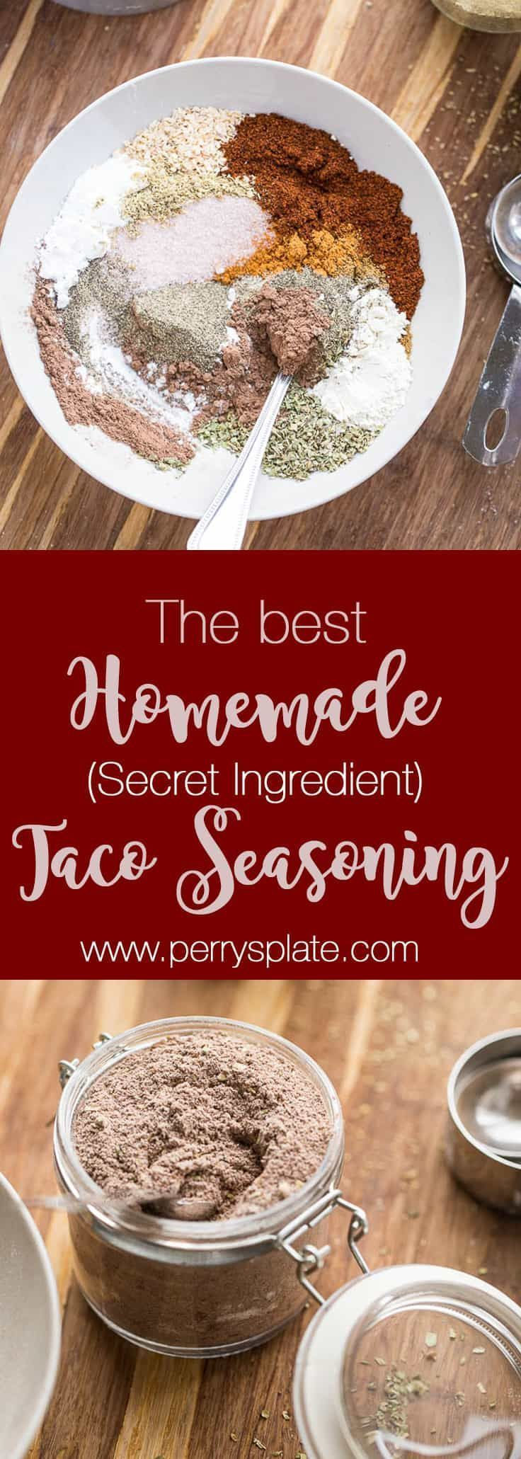 The BEST homemade taco seasoning recipe out there. Honest. And you can tweak it to make it paleo, Whole30 compliant, or keto/low-carb friendly! perrysplate.com #tacoseasoning #homemadetacoseasoning #glutenfree #diytacoseasoning The BEST homemade taco seasoning recipe out there. Honest. And you can tweak it to make it paleo, Whole30 compliant, or keto/low-carb friendly! perrysplate.com #tacoseasoning #homemadetacoseasoning #glutenfree #diytacoseasoning The BEST homemade taco seasoning recipe out #diytacoseasoning