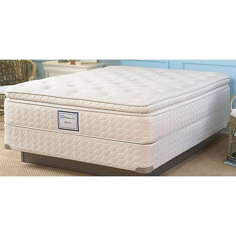 Sealy Posturepedic 50558951 Candle Glow Plush Euro Pillowtop Ii Queen Mattress Sears Outlet Mattress Sealy Posturepedic Sealy Posturepedic Mattress