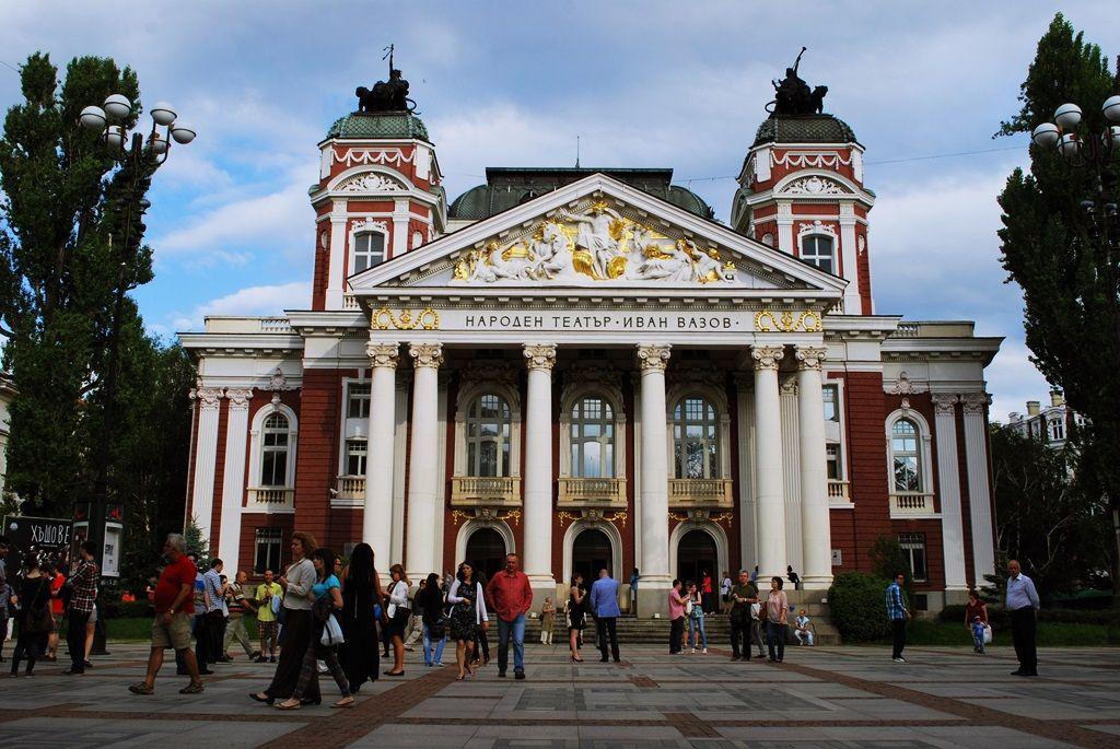 National Theater in Sofia, Bulgaria (http://travellingbuzz.com/walk-in-sofia-bulgaria/)