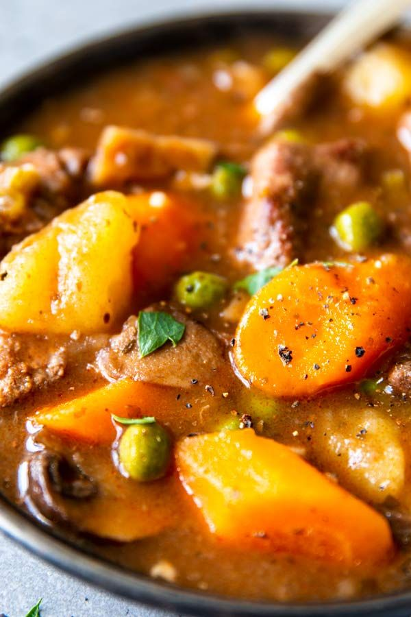 This Instant Pot Beef Stew recipe is an easy, comforting ...