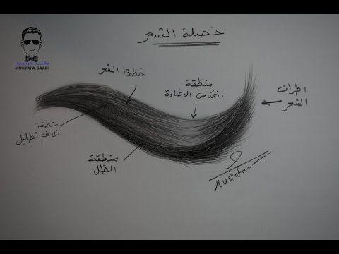 كورس تعلم رسم الشعر بالرصاص للمبتدئين Youtube How To Draw Hair Step By Step Hairstyles Hair Styles