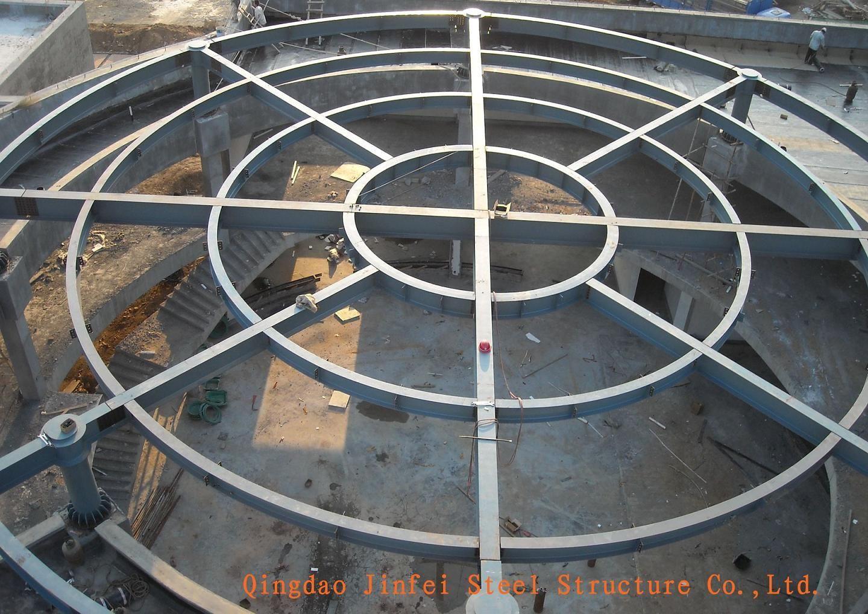 The Round Steel Structure Supermarket …