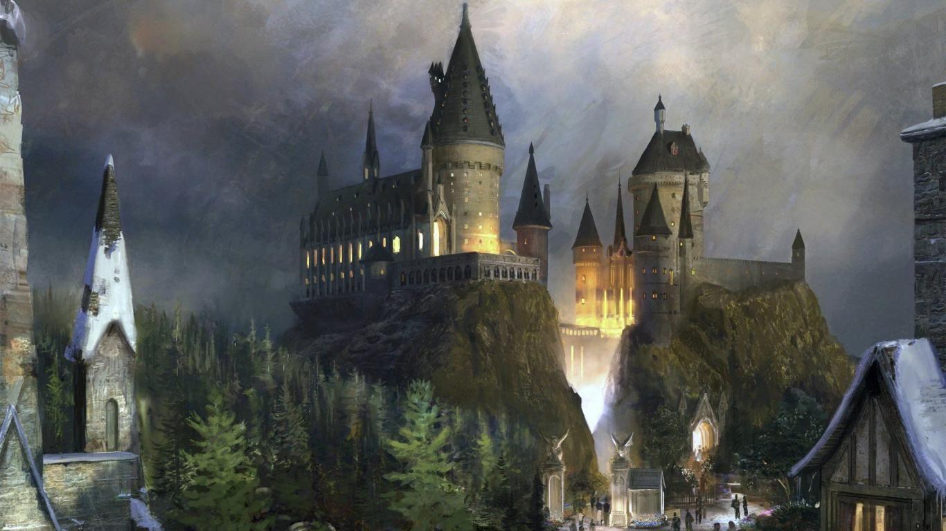Wallpapers Hogwarts Castle My Hd 1366x768 125980 Hogwarts Castle Harry Potter Theme Park Hogwarts Hogwarts Castle