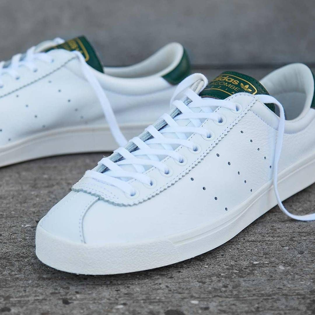 newest 93a01 a6cb4 Release Date  October 6, 2017 Adidas Lacombe SPZL White  Easy Green