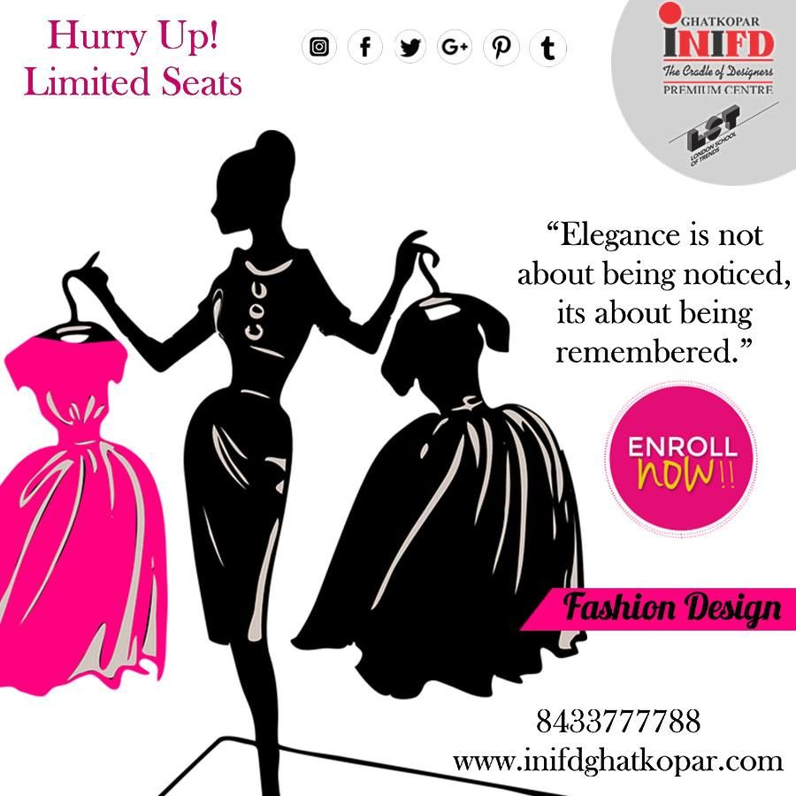 Inifd Ghatkopar Is One Of The Best And Leading Fashion Designing Interior Designing I Fashion Designing Course Fashion Designing Colleges Best Interior Paint