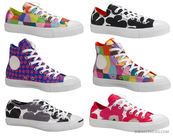 Marimekko x Converse Fall 2011 Footwear Collection