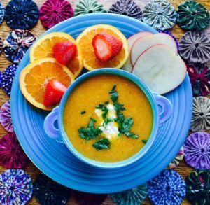 MaryPat's Creamy Apple, Carrot & Cauliflower Soup