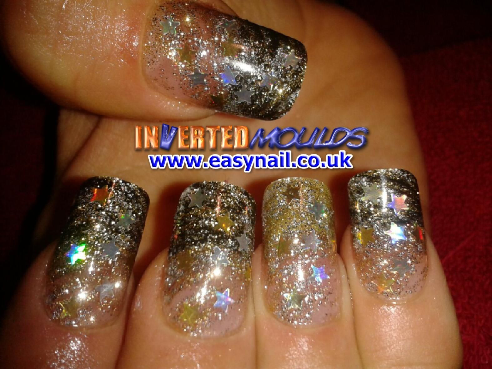 SILVER STAR Inverted Moulds by Cheryl Hammond. Find us on Facebook by just clicking on the picture: