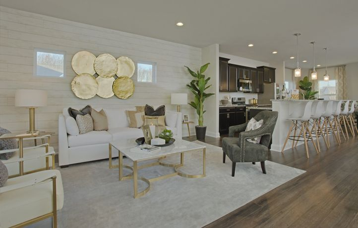 The Easton at Tanyard Cove - Living Room | New home ...