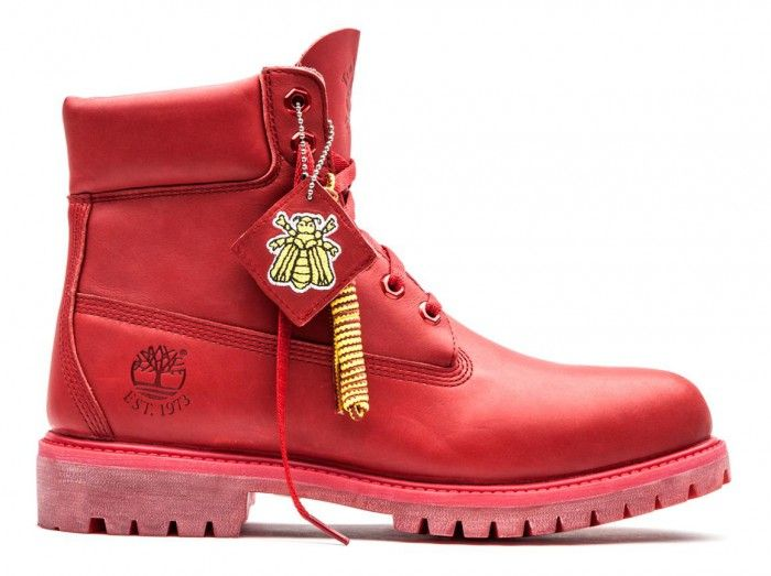 Bee Line x Timberland Red Boot Release | Timberland 6 inch