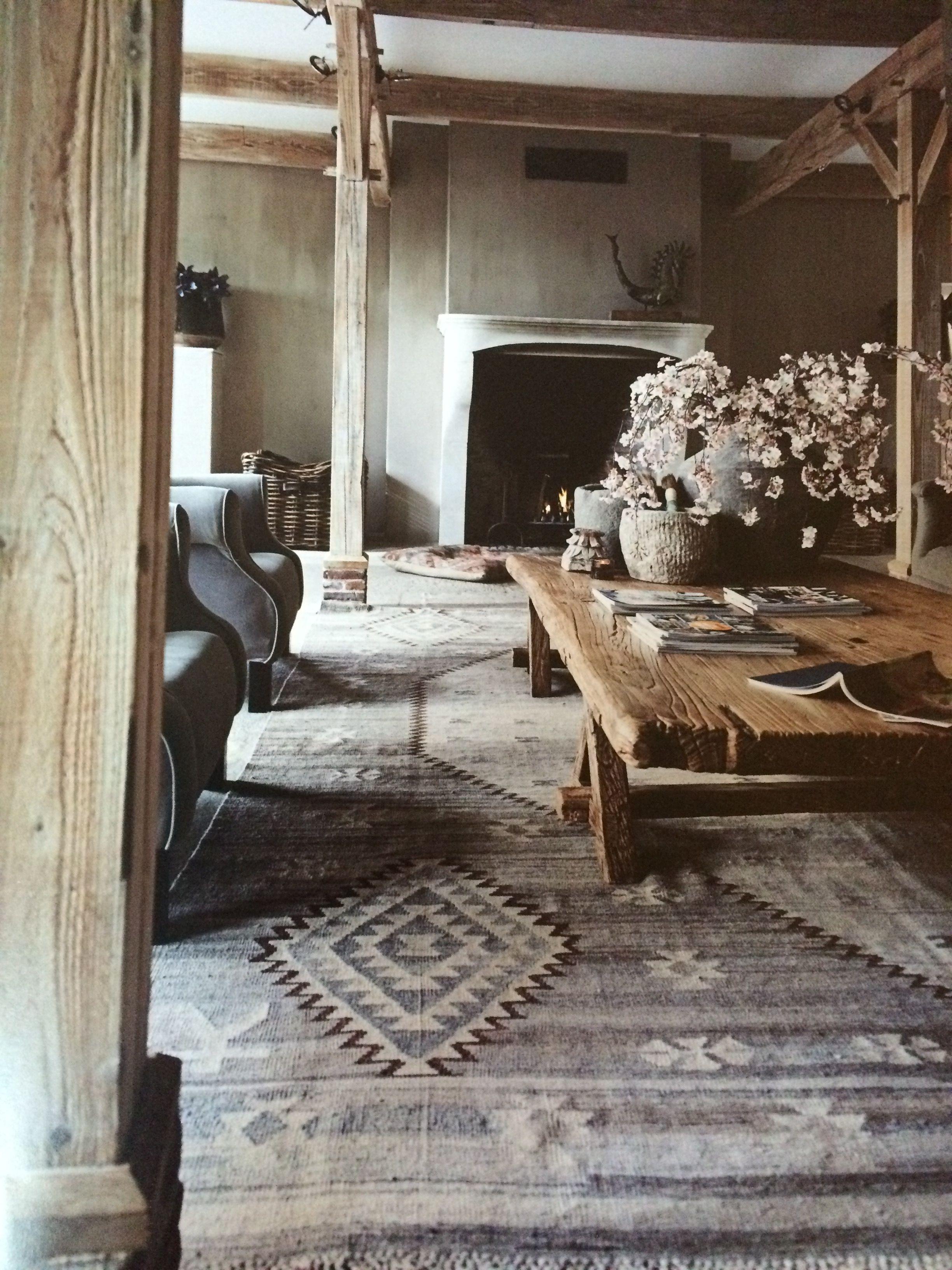 modern landelijke stijl rustieke elegantie boheems interieur boheems tapijt rustieke interieurs
