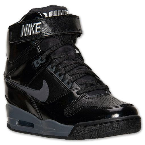 huge selection of 9860a 0a122 Women's Nike Air Revolution Sky Hi Black | Shoe Game BQ in 2019 ...