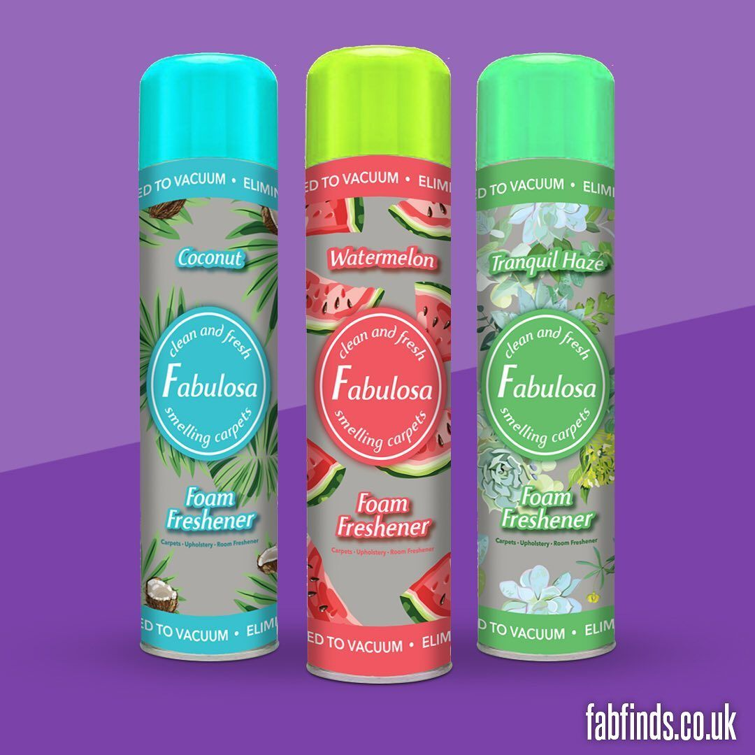 Fabulosa Foam Carpet Fresheners Now Available On Fabfinds Co Uk Free Bottle Of Fabulosa Antibac With Every Order Blackfriday Shopatfabfinds Myfabulosa I 2020