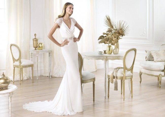 vestidos de novia sencillos para segundas nupcias | vestidos de