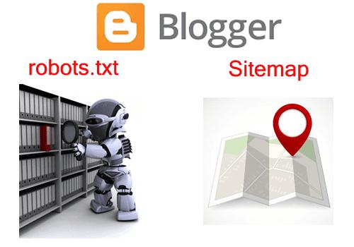 اضافة ملف Sitemap و ملف Robots Txt فى بلوجر Ads Blogger