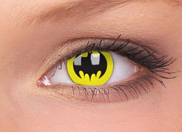 3cb4f96fe2d2a Pupilentes de Batman. Pupilentes de Batman Lentes De Contacto ...