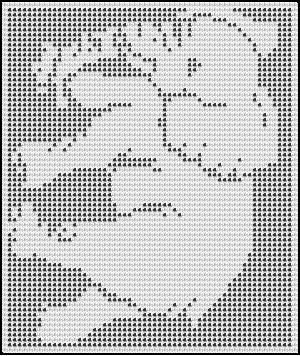 Free Filet Crochet Elephant Pattern : elephant crochet afghan pattern. Picture only - crochet ...