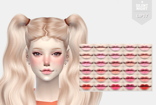 Candy Lip 17 For The Sims 4 By Silent Night Sims 4 Mods The Sims Sims