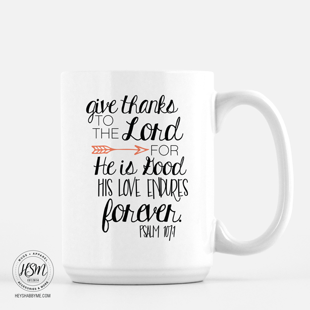 Give Thanks - Mug #funnycoffeemugs