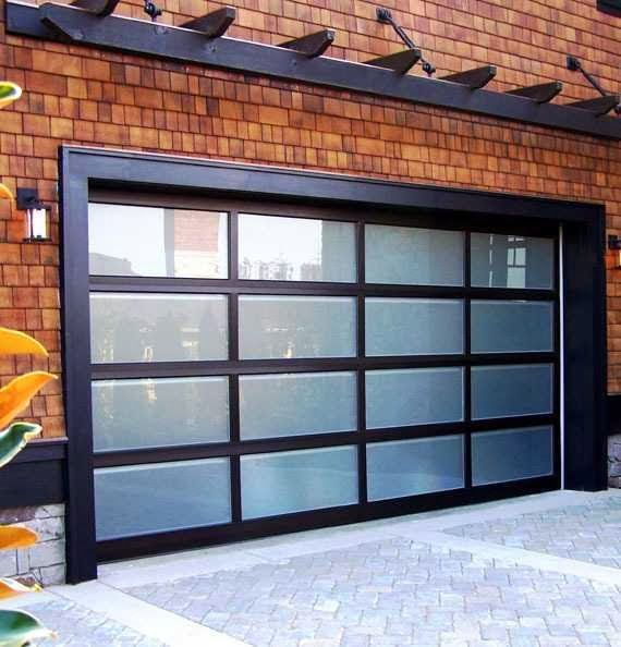 54 Cool Garage Door Design Ideas Pictures: Modern Classic Garage Door Decor