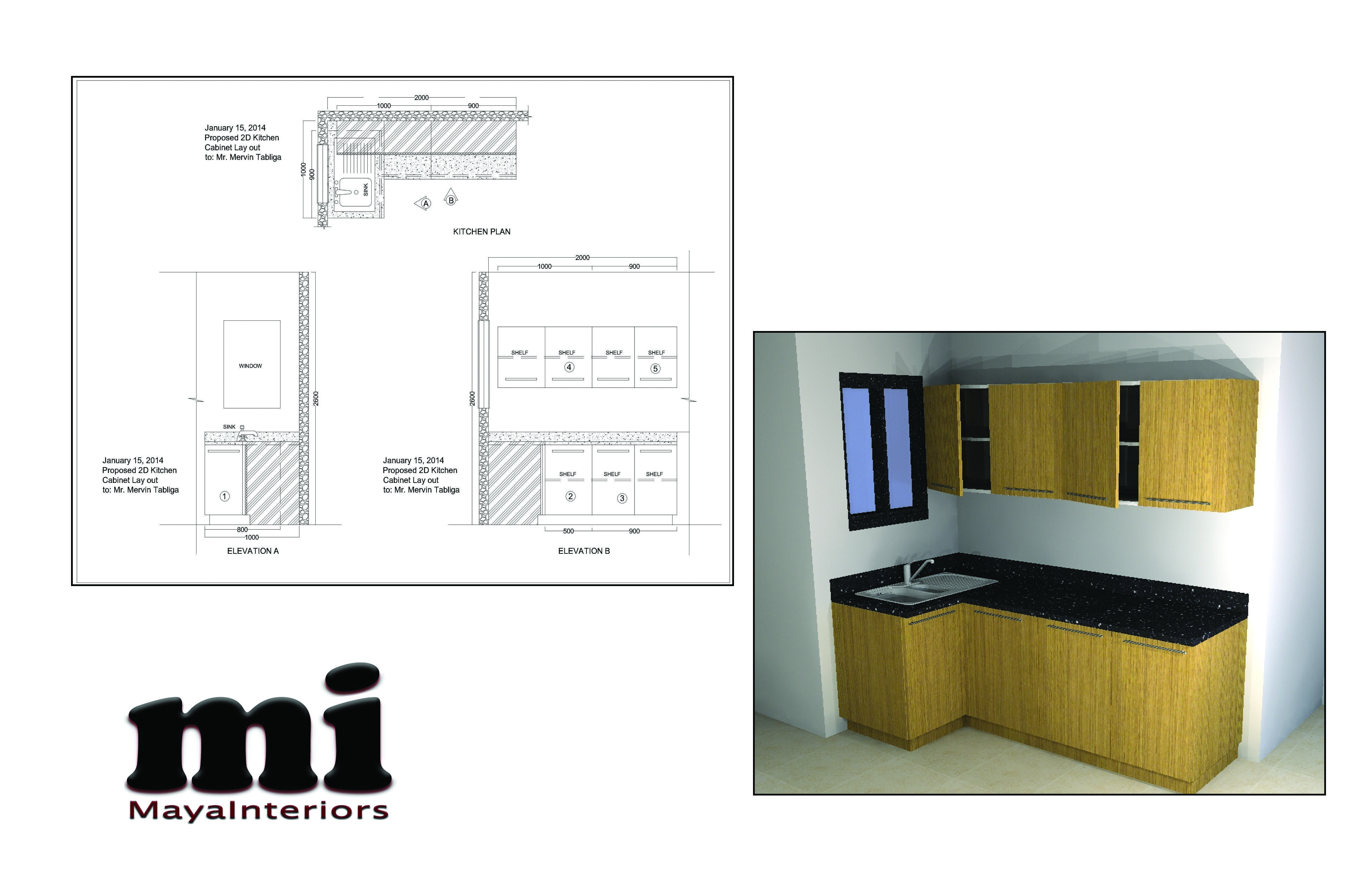 l type small kitchen cabinets 2d lay out with the measurement 3d rh pinterest com